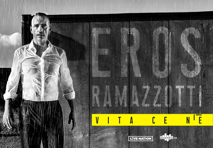 Concerts of Eros Ramazzotti  in Moscow and St. Petersburg  October 2019! Moscow, October 10-11 / St. Petersburg, October 13