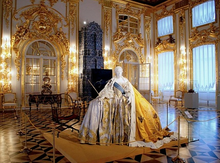 Tour to Pushkin and Catherine Palace